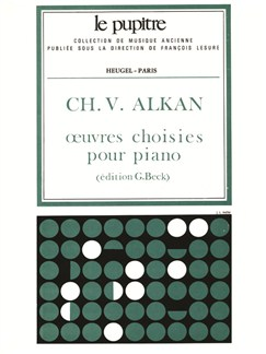 Alkan: Oeuvres Choisies Pour Piano (Lp16) Books | Piano