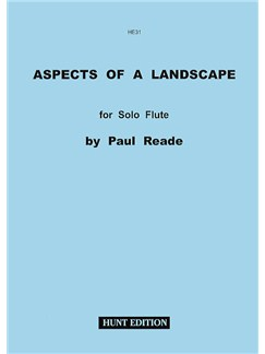 Paul Reade: Aspects Of A Landscape Books | Flute
