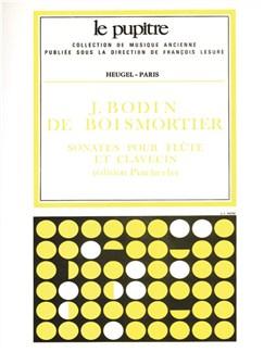 Boismortier: Sonates Pour Flute Traversière Et Clavecin Op91 (Lp20) Books | Flute