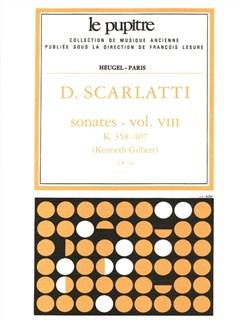 Domenico Scarlatti: Sonatas Vol. 8 Books | Harpsichord