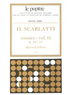 Scarlatti: Oeuvres Complètes Pour Clavier Volume 9 Sonates K408 À K457 (Lp39) Books | Harpsichord