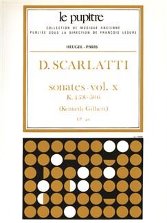 Scarlatti: Oeuvres Complètes Pour Clavier Volume 10 Sonates K458 À K506 (Lp40) Books | Harpsichord