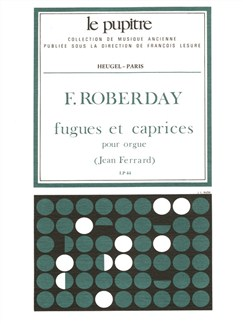 Ferrard: Fugues Et Caprices (Organ) Books | Organ