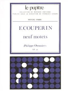 Couperin F: 9 Motets Partition (lp45) Books | Voice