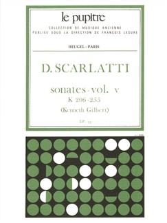 Domenico Scarlatti: Sonatas Vol.5 (K206-K255) (Gilbert) Books   Harpsichord, Piano