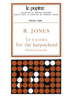 Jones: Lessons fot the harpsichord (pièces de clavecin) (lp49) Books | Harpsichord