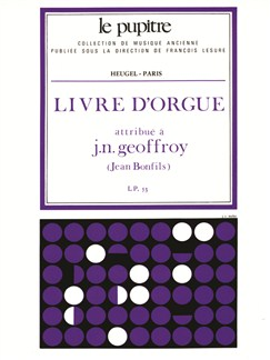 Bonfils: Livre D'orgue (Lp53) Books | Organ