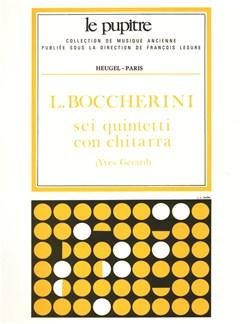 Boccherini: Sei quintetti con chitarra partition (lp29) Books | Guitar