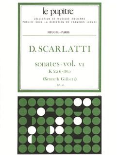 Scarlatti: Oeuvres Complètes Pour Clavier Volume 6 Sonates K256 À K305 (Lp36) Books | Harpsichord