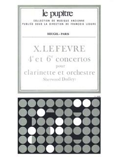 Lefevre: Concertos N04 Et N06 Pour Clarinette Et Orchestre Partition (Lp56) Books | Clarinet