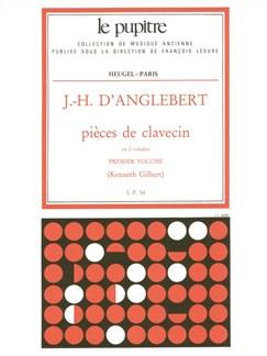D'Anglebert: Pièces De Clavecin (Lp54)/Volume 1 Books   Harpsichord