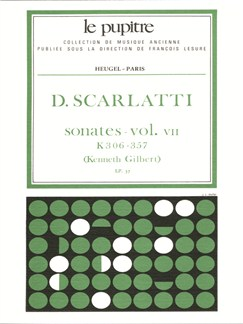 Domenico Scarlatti: Oeuvres Complètes Pour Clavier - Volume 7 (Sonates K306 À K357 LP37) Books | Harpsichord