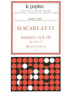 Scarlatti: Oeuvres Complètes Pour Clavier Volume 3 Sonates K104 À K155 (Lp33) Books | Harpsichord