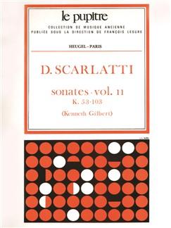 Scarlatti: Oeuvres Complètes Pour Clavier Volume 2 Sonates K53 À K103 (Lp32) Books | Harpsichord