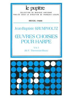 Krumpholtz: Oeuvres Choisies Pour Harpe Volume  1 (Lp63) Books   Harp