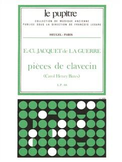 Jacquet De La Guerre: Pièces De Clavecin (Lp66) Books | Harpsichord