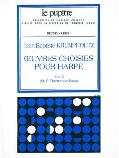 Krumpholtz: Oeuvres Choisies Pour Harpe Volume 2 (Lp64) Books | Harp
