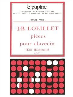 Loeillet, J.B: Pièces de clavecin (LP67) Books | Harpsichord