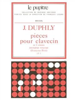 Jacques Duphly: Pièces Pour Clavecin Vol.2 (Lp1) (Harpsichord Solo) Books | Harpsichord