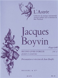 Jacques Boyvin: Livre d'Orgue No.2, Vol.1 (Organ) Books | Organ
