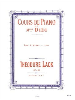 Théodore Lack: Miss Didi''s studies, Op. 85 - Vol. 1 Books | Piano