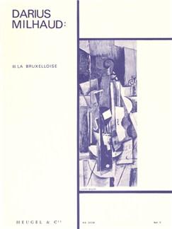 Darius Milhaud: Quatre Visages - III. La Bruxelloise (Viola/Piano) Books | Viola, Piano Accompaniment