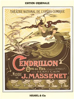 Jules Massenet: Cendrillon (Vocal Score) Books | Opera