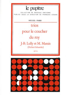 Lully: Trios pour le coucher du roy partition (lp70) Books | Orchestra
