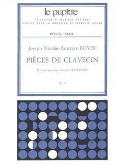 Joseph-Nicolas-Pancrace Royer: Pièces De Clavecin (Crawford) Books | Harpsichord