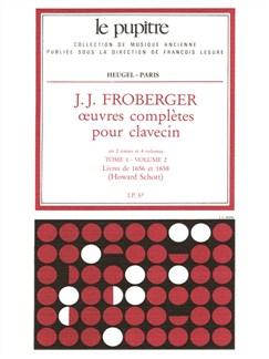 J.J. Froberger: Oeuvres Complètes Pour Clavecin Book 1 Vol.2 Books | Harpsichord