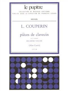 Louis Couperin: Pieces De Clavecin Vol.2 Books | Harpsichord