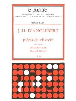 Anglebert D: Pièces de clavecin (lp54)/volume 2 Books | Harpsichord