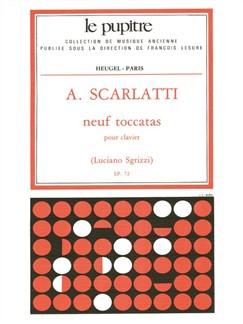 Scarlatti, A.: 9 Toccatas Clavier (Lp72) Books | Harpsichord