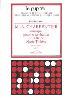 Marc-Antoine Charpentier: Musique pour les Funérailles (LP73) (Choral) Books | Choral