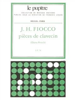 Fiocco: Pièces De Clavecin Edition Critique De D. Petech.(Lp 78) Books | Harpsichord