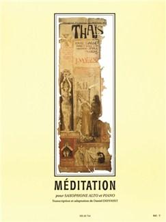 Jules Massenet: Méditation From Thaïs (Alto Saxophone/Piano) Books | Alto Saxophone, Piano Accompaniment
