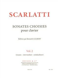 Domenico Giuseppe Scarlatti: Sonates choisies Vol.2 (Piano solo) Books | Piano