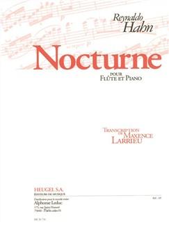 Hahn: Nocturne Pour Flute Et Piano Books | Flute