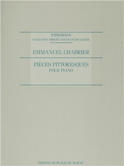 Emmanuel Chabrier: Pièces Pittoresques (Piano Solo) Books | Piano