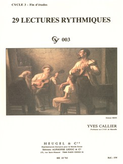 Yves Callier: 29 Rhythmic Exercises Books | All Instruments