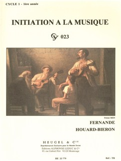 Fernande Houard-Bieron: Initiation À La Musique – Level 1, Year 1 Books |