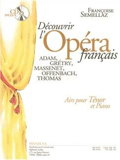 Semellaz: Decouvrir l'opera français (livre avec cd) partition seule airs pour tenor et piano Books   Opera