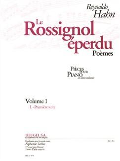 Reynaldo Hahn: Le Rossignol Éperdu Vol.1 (Piano) Books | Piano