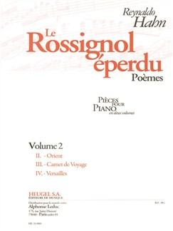 Reynaldo Hahn: Le Rossignol Éperdu - Vol. 2 (Piano) Books   Piano