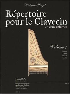 Richard Siegel: Répertoire Pour Le Clavecin Vol.1 Libro | Clavecín