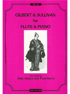 Gilbert and Sullivan For Flute And Piano Books | Flute, Piano Accompaniment