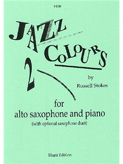Jazz Colours 2 Books | Alto Saxophone, Piano Accompaniment