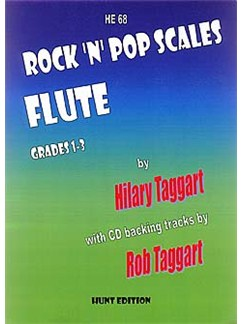 Rock 'N' Pop Scales: FLUTE by Taggart + FREE CD Books and CDs | Flute