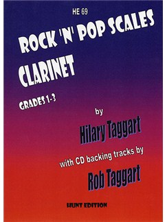 Hilary Taggart: Rock 'N' Pop Scales for Clarinet Books and CDs | Clarinet