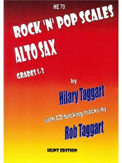 Hilary Taggart: Rock 'N' Pop Scales Books and CDs | Alto Saxophone